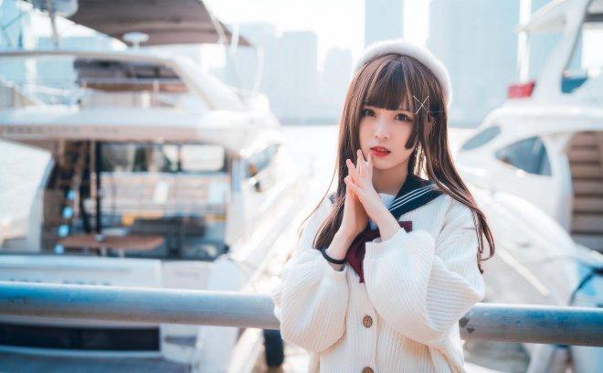佳茗w-可爱JK萌妹