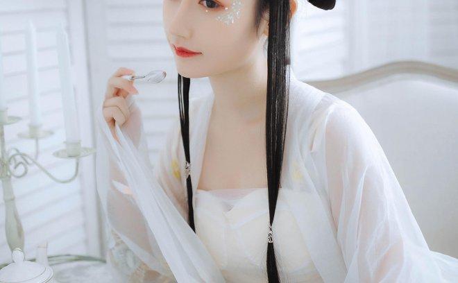 九宫灵-古风白裙