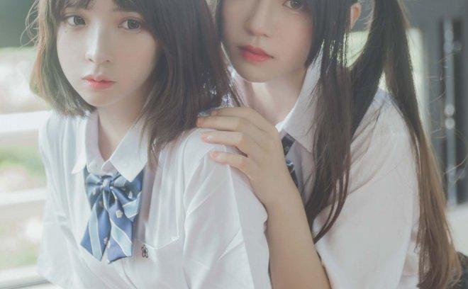 桜桃喵|疯猫ss No1-JK百合「41P 313M」