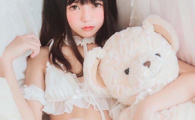 桜桃喵 No3-白猫「32P 234M」