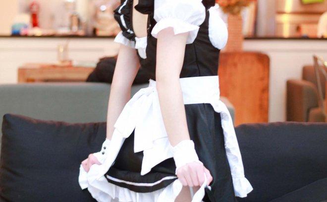 一小央泽-黑修女+女仆鸢折纸「23P 91.2M」